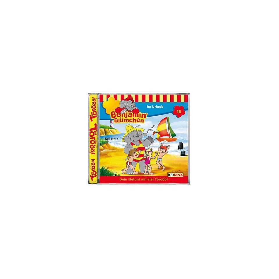 Kiddinx CD Benjamin Blümchen 15 - im Urlaub
