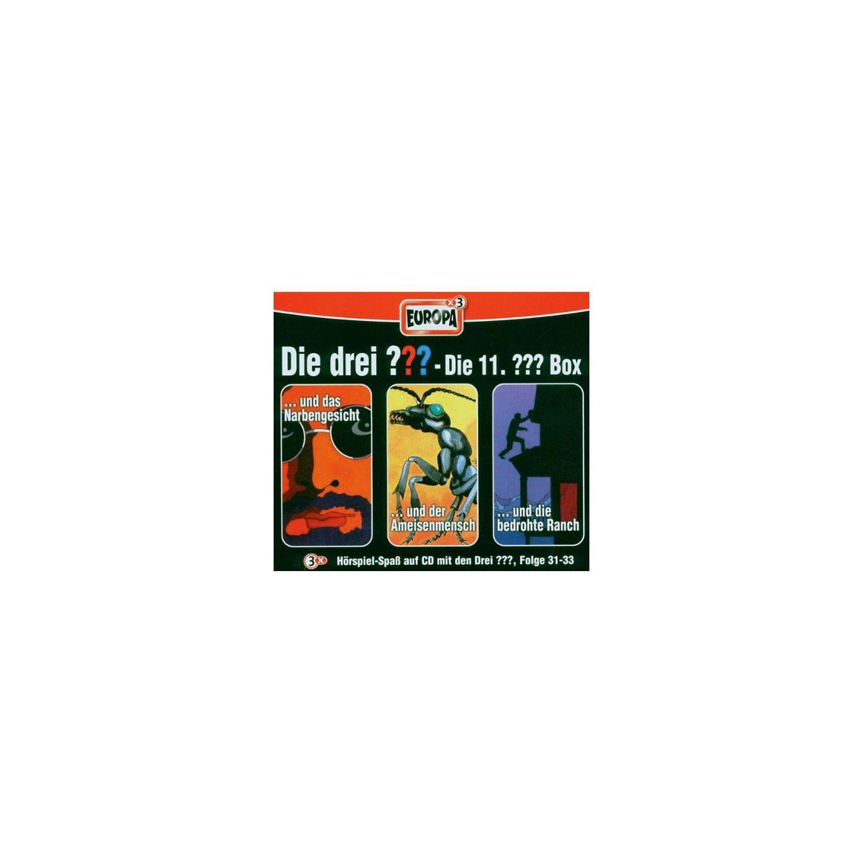 Sony CD Die Drei ??? 11/3er Box - Folge 31-33