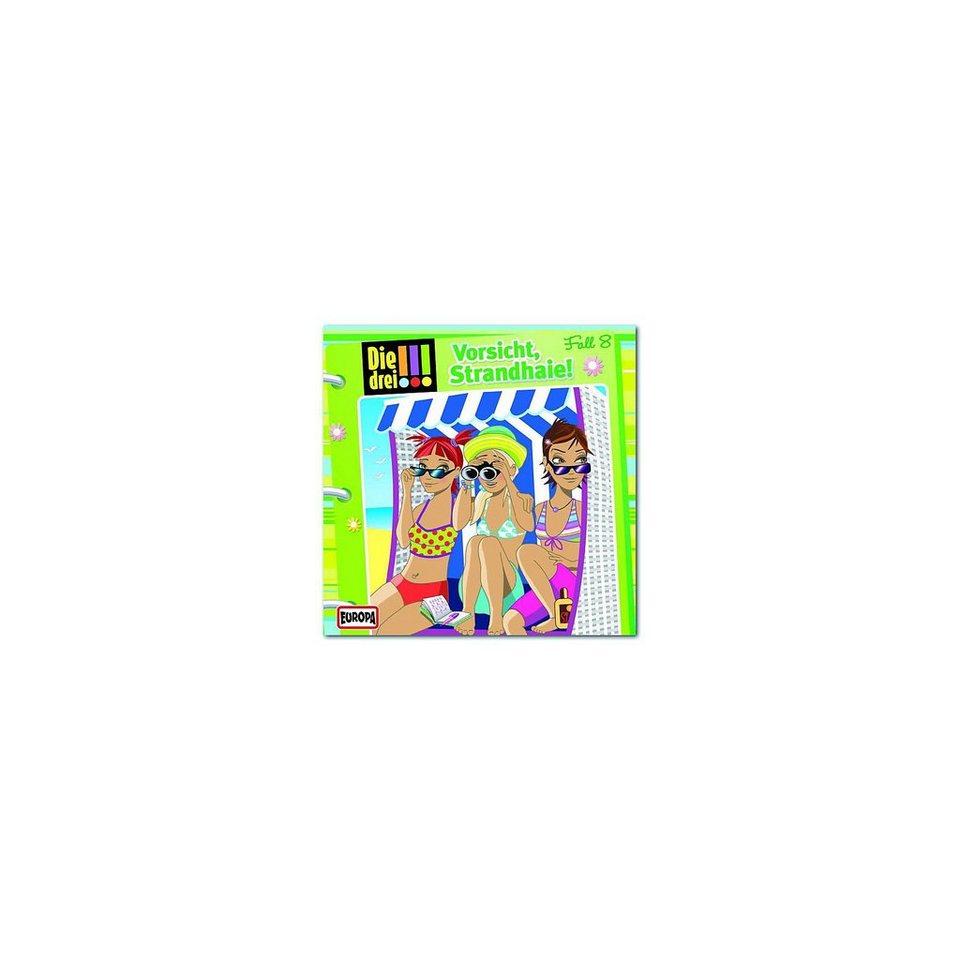 Sony CD Die Drei !!! 08 - Vorsicht Strandhaie