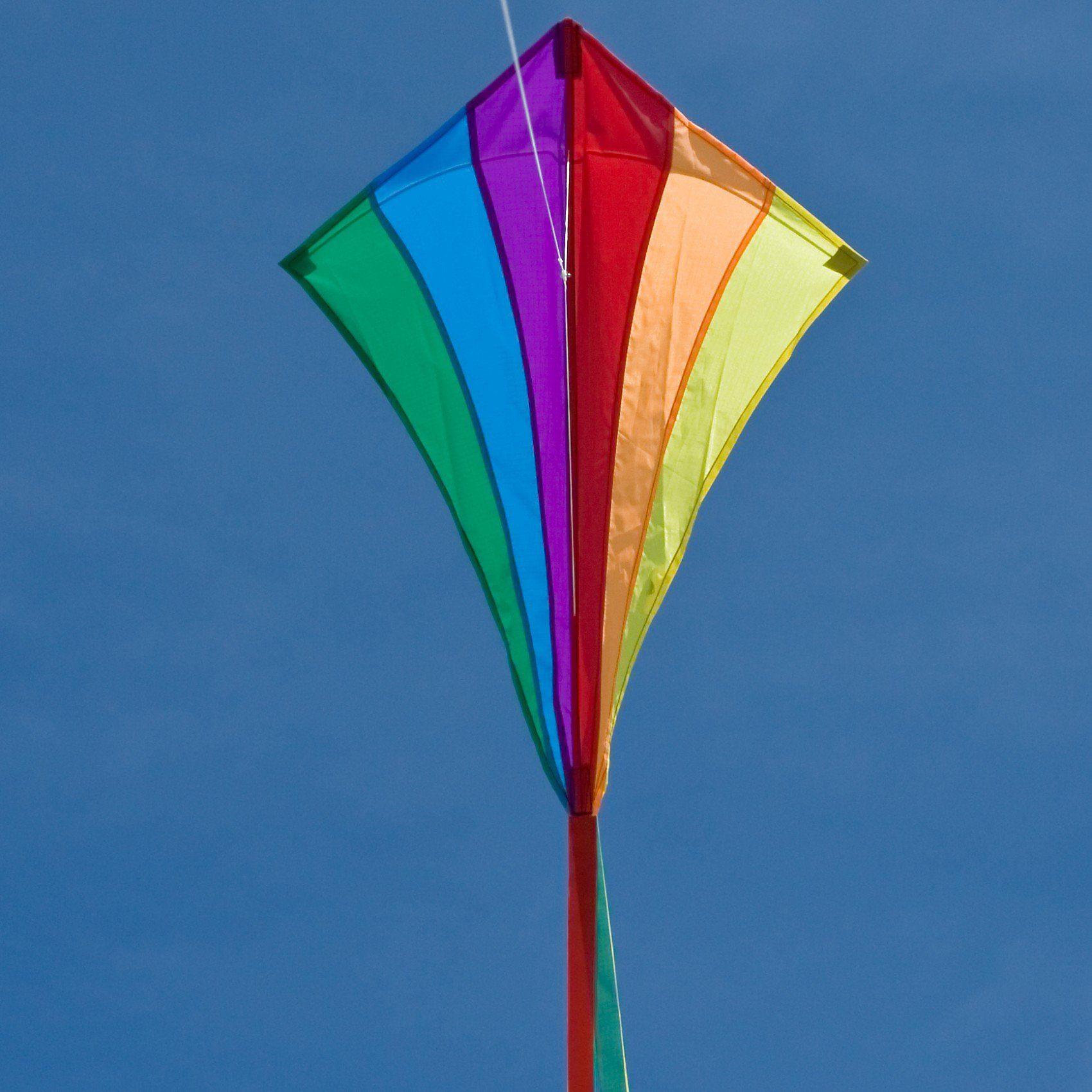 HQ Drachen Line Eddy Rainbow 70cm