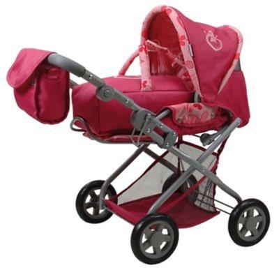 KNORRTOYS.COM Puppenwagen Kyra pink