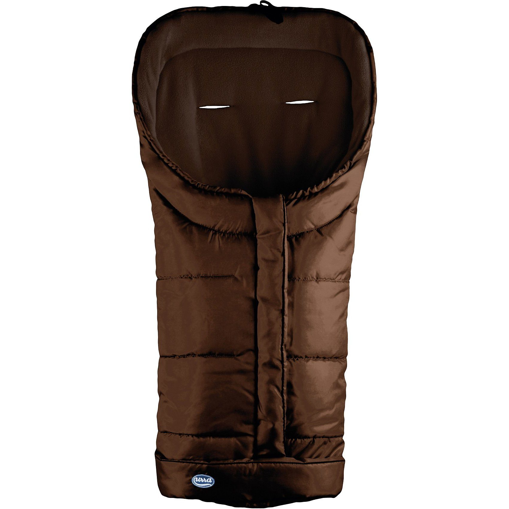 Urra Techno-Fleece Fußsack, mocca