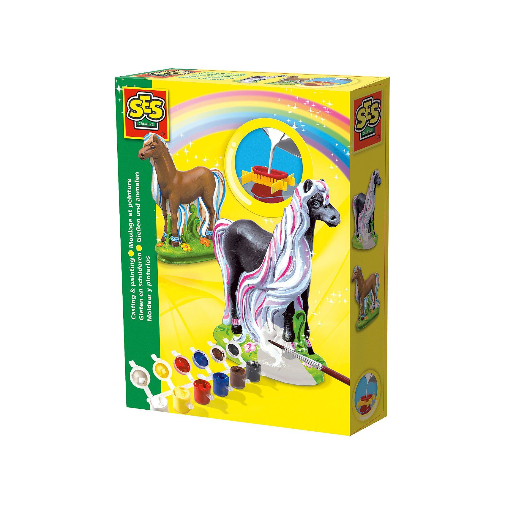 SES Creative Kreativset Pferde gießen