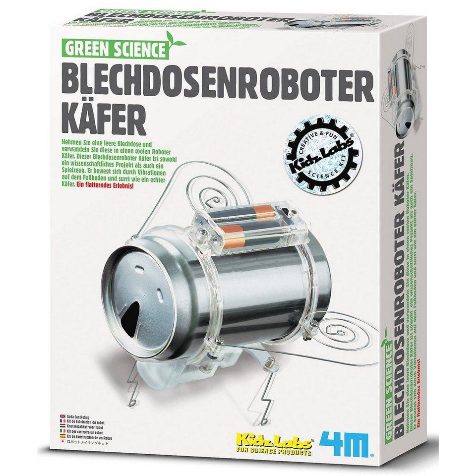 Green Science Bausatz Blechdosen-Roboterkäfer
