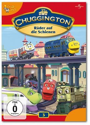 Universal DVD Chuggington 03 - Räder auf die Schienen