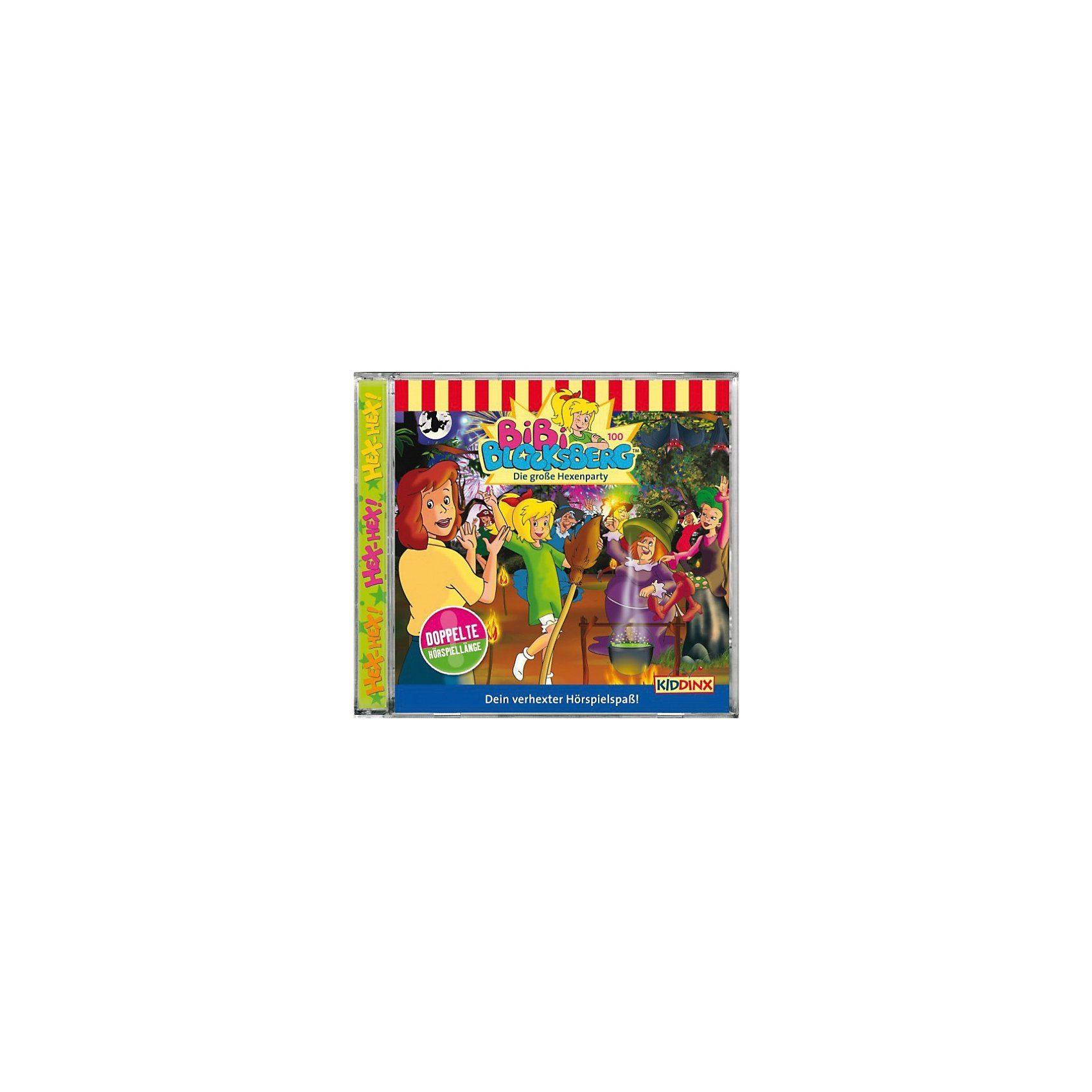 Kiddinx CD Bibi Blocksberg 100 - Die große Hexenparty