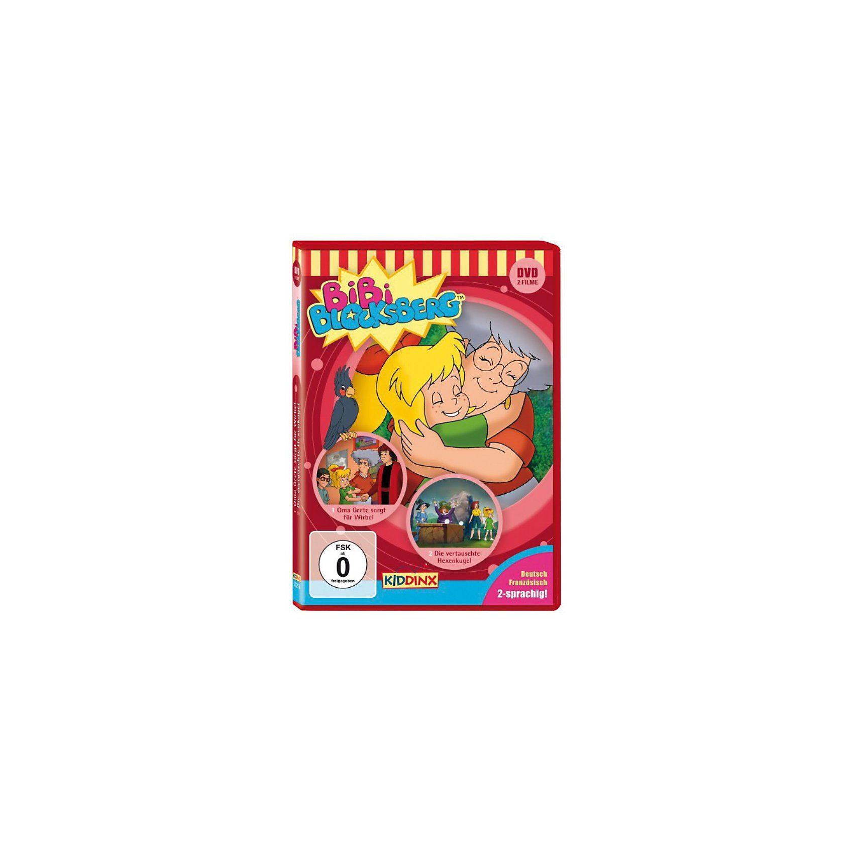 Kiddinx DVD Bibi Blocksberg - Oma Grete sorgt für Wirbel/vertauschte