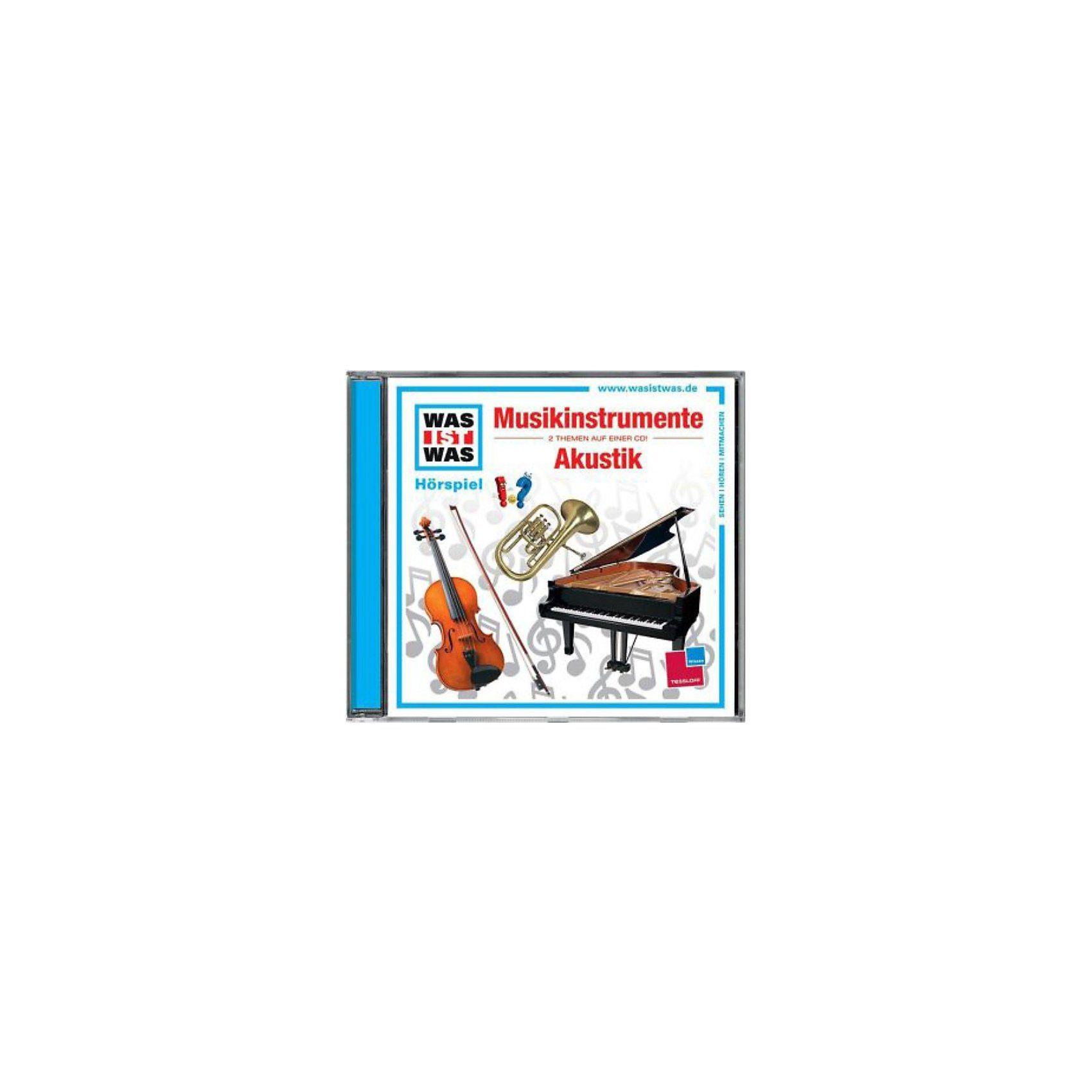 Universal Music GmbH CD Was ist Was 43 Musikinstrumente / Akustik