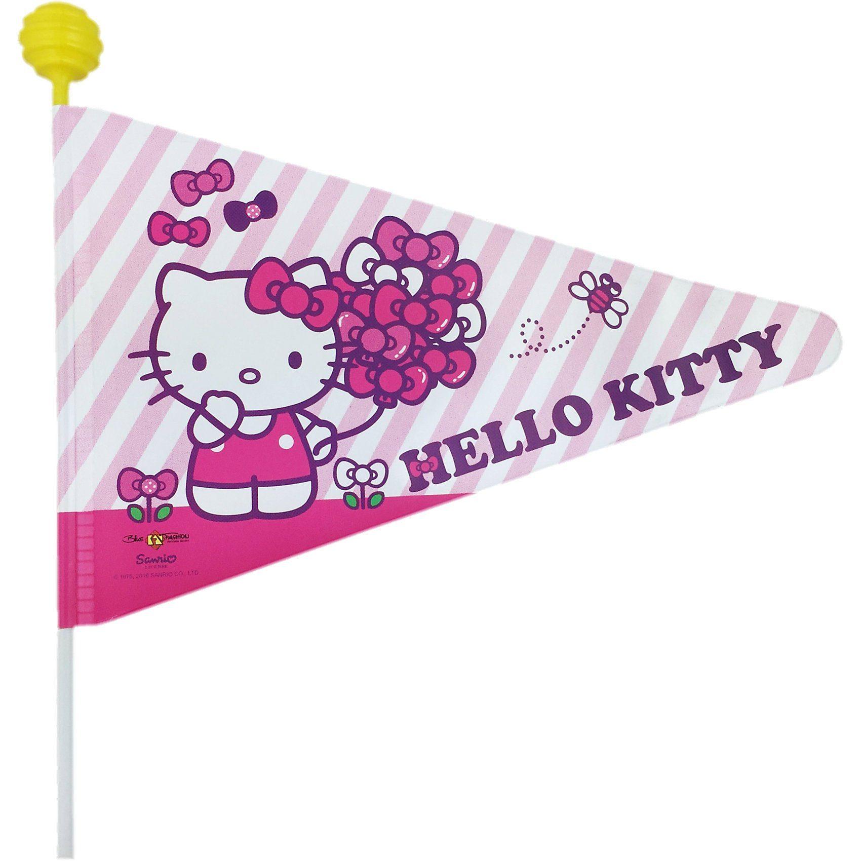 Bike Fashion Hello Kitty Fahrradwimpel