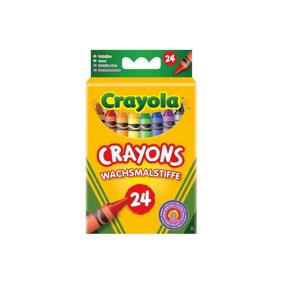 Crayola Wachsmalstifte, 24 Farben