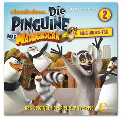 Edel Germany GmbH CD Die Pinguine aus Madagascar 02 King- Julien-Tag!