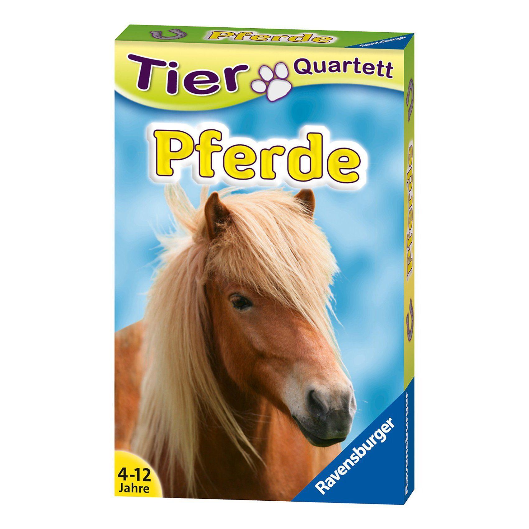Ravensburger Tier-Quartette: Pferde