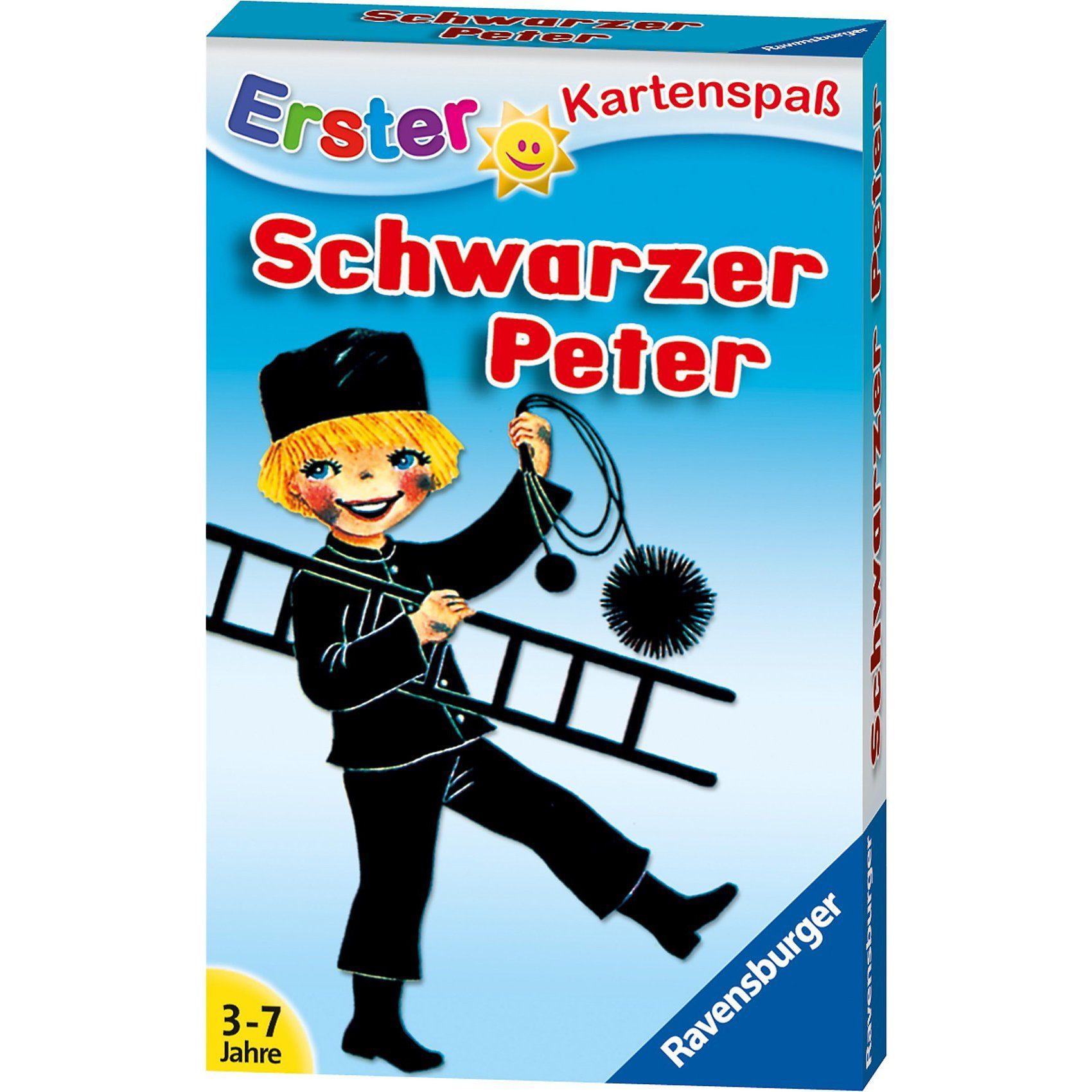 Ravensburger Erster Kartenspaß Schwarzer Peter - Kaminkehrer