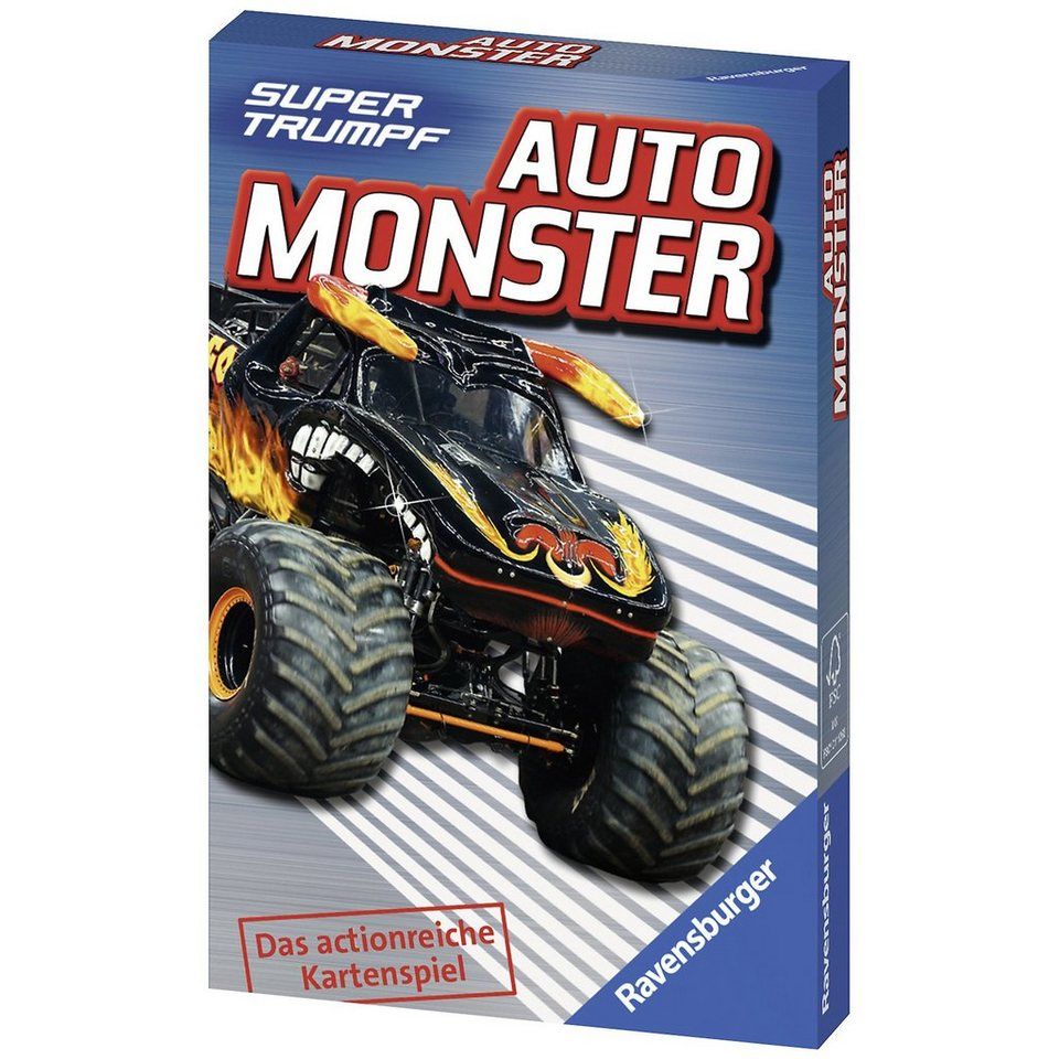 Ravensburger Supertrumpf: Auto Monster