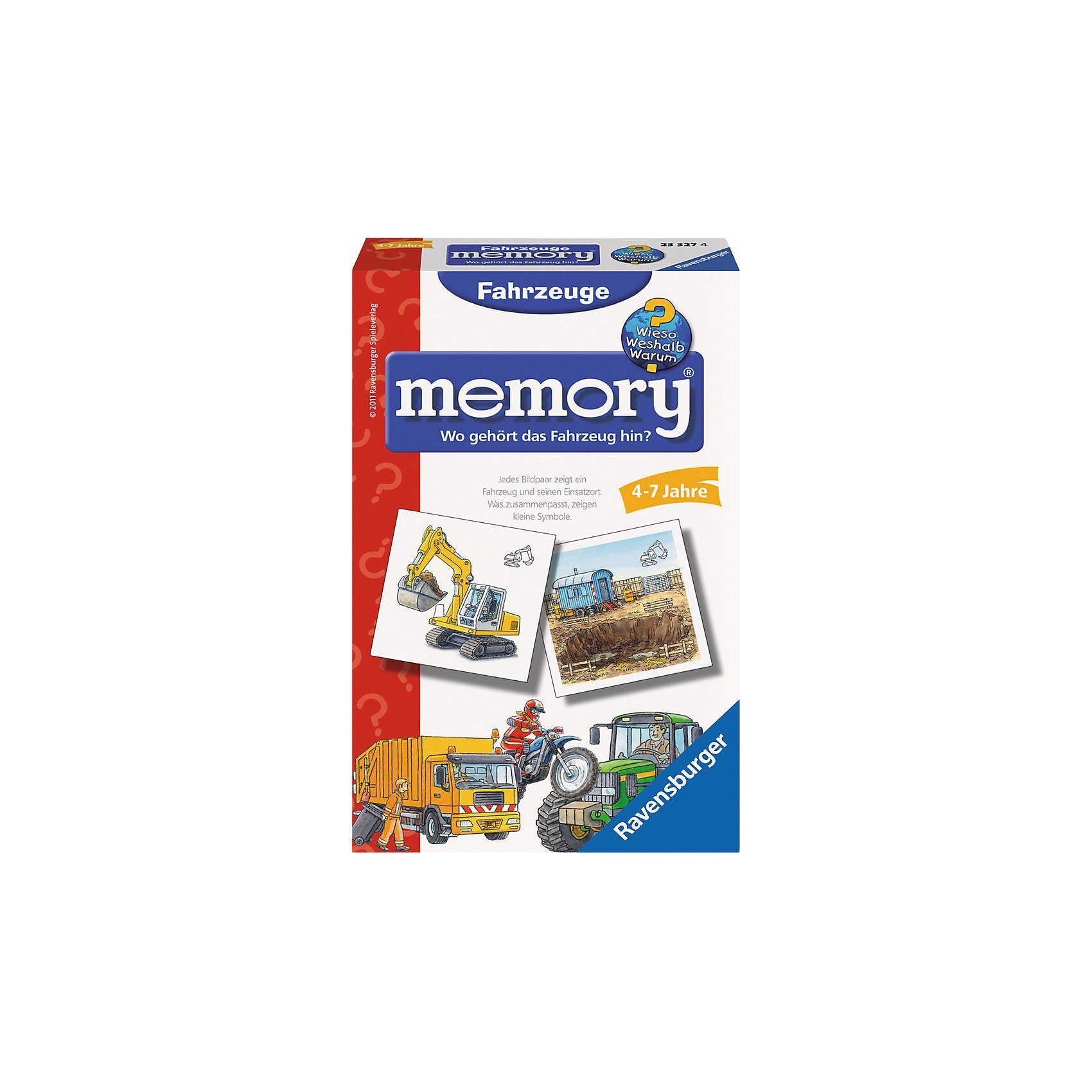 Ravensburger Mitbringspiel WWW: Fahrzeuge memory®