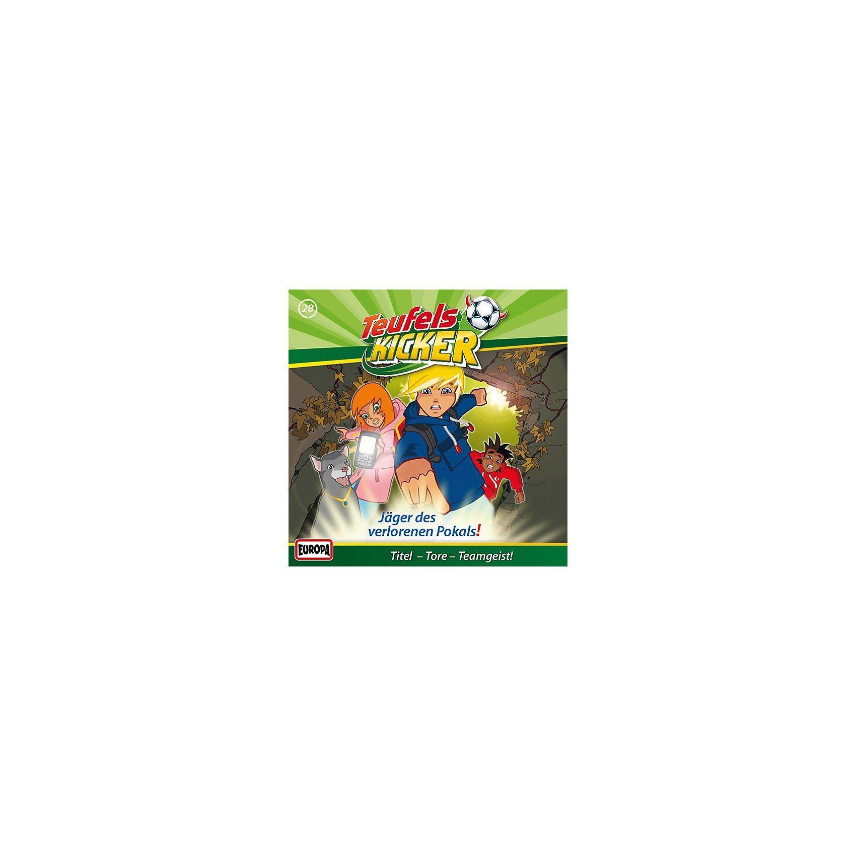 Sony CD Teufelskicker 28 - Jäger des verlorenen Pokals