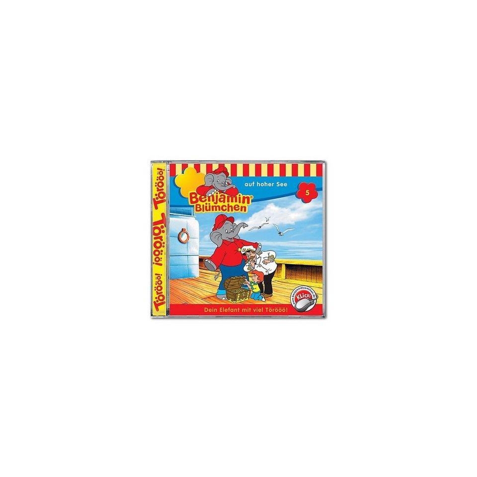 Kiddinx CD Benjamin Blümchen 05 - auf hoher See
