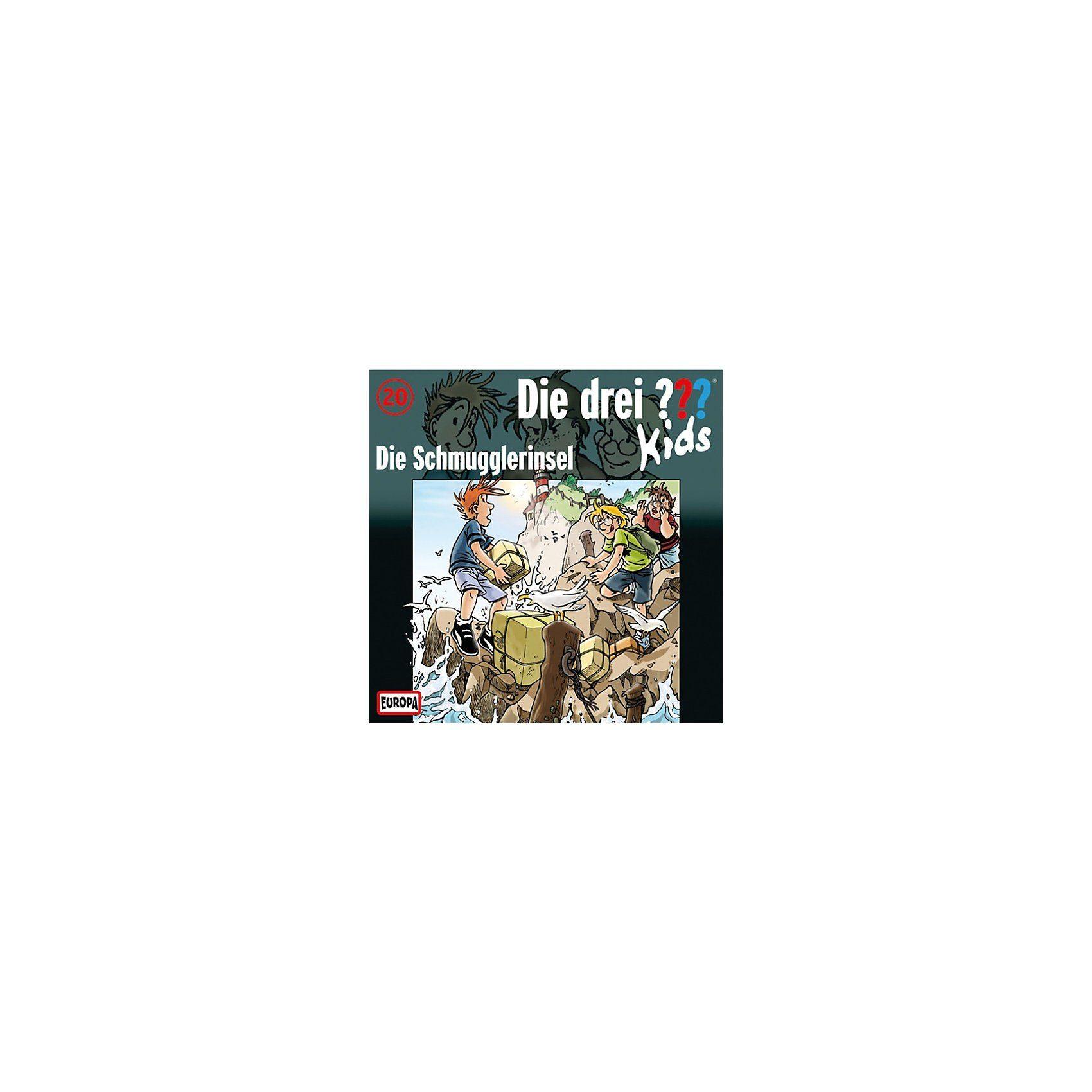 SONY BMG MUSIC CD Die drei ??? Kids 20 -Die Schmuggler- insel