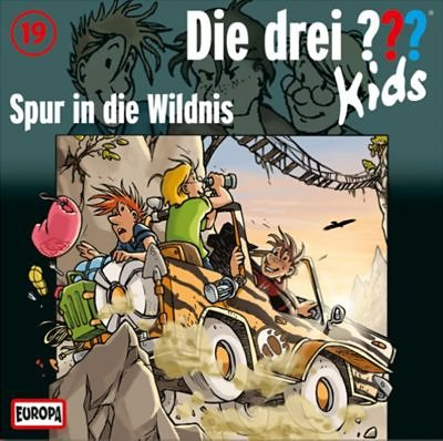 SONY BMG MUSIC CD Die drei ??? Kids 19 - Spur in die Wildnis