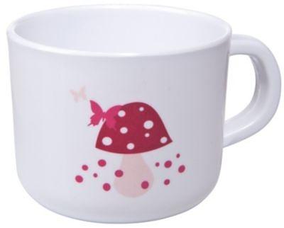Lässig Kinder Tasse Cup, Mushroom in pink