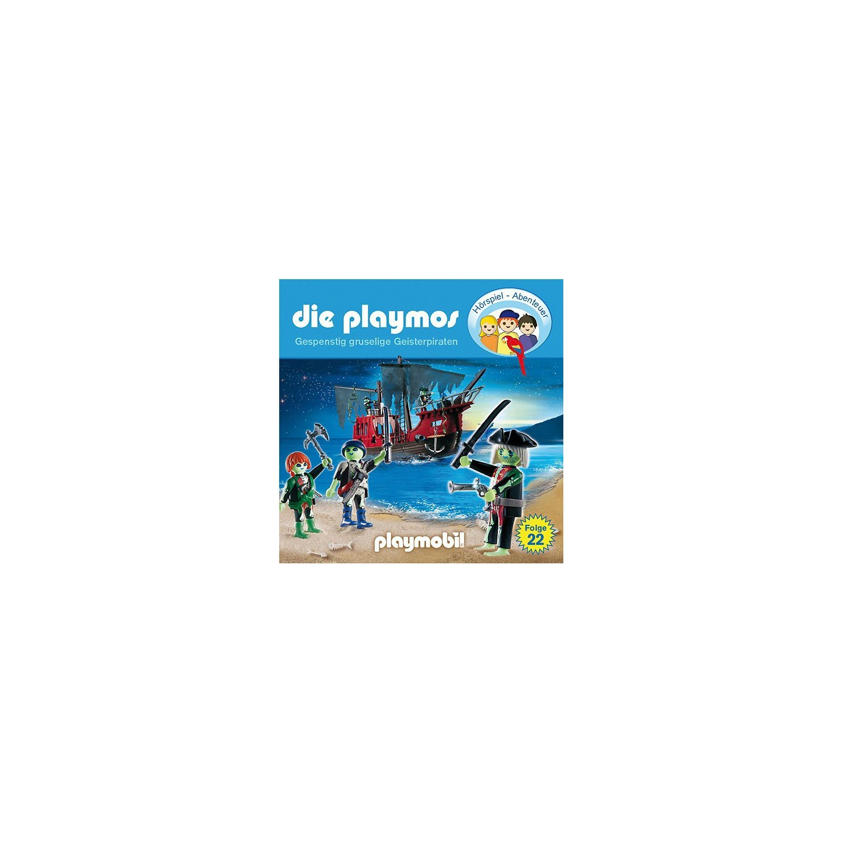 Edel Germany GmbH CD Die Playmos 22 - Gespenstig gruselige Geisterpiraten