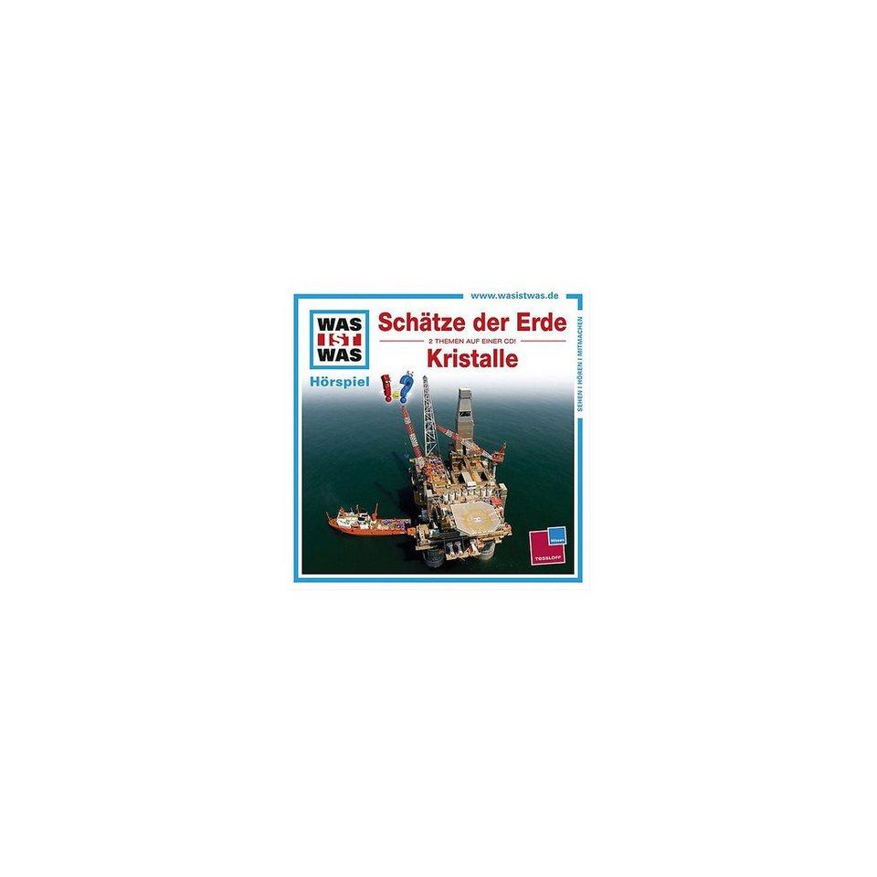 Universal Music GmbH CD Was ist Was 45 - Schätze der Erde / Kristalle