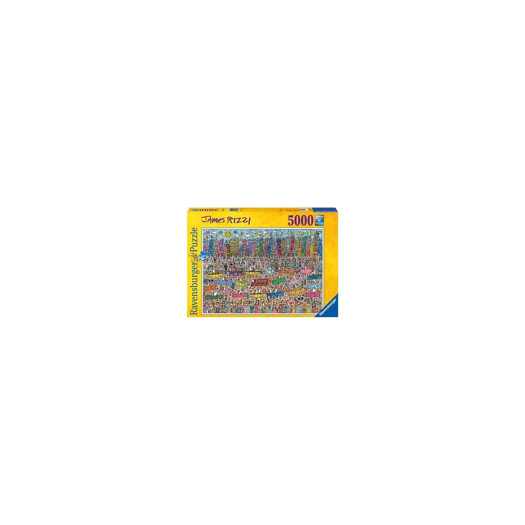 Ravensburger James Rizzi - 5000 Teile Puzzle