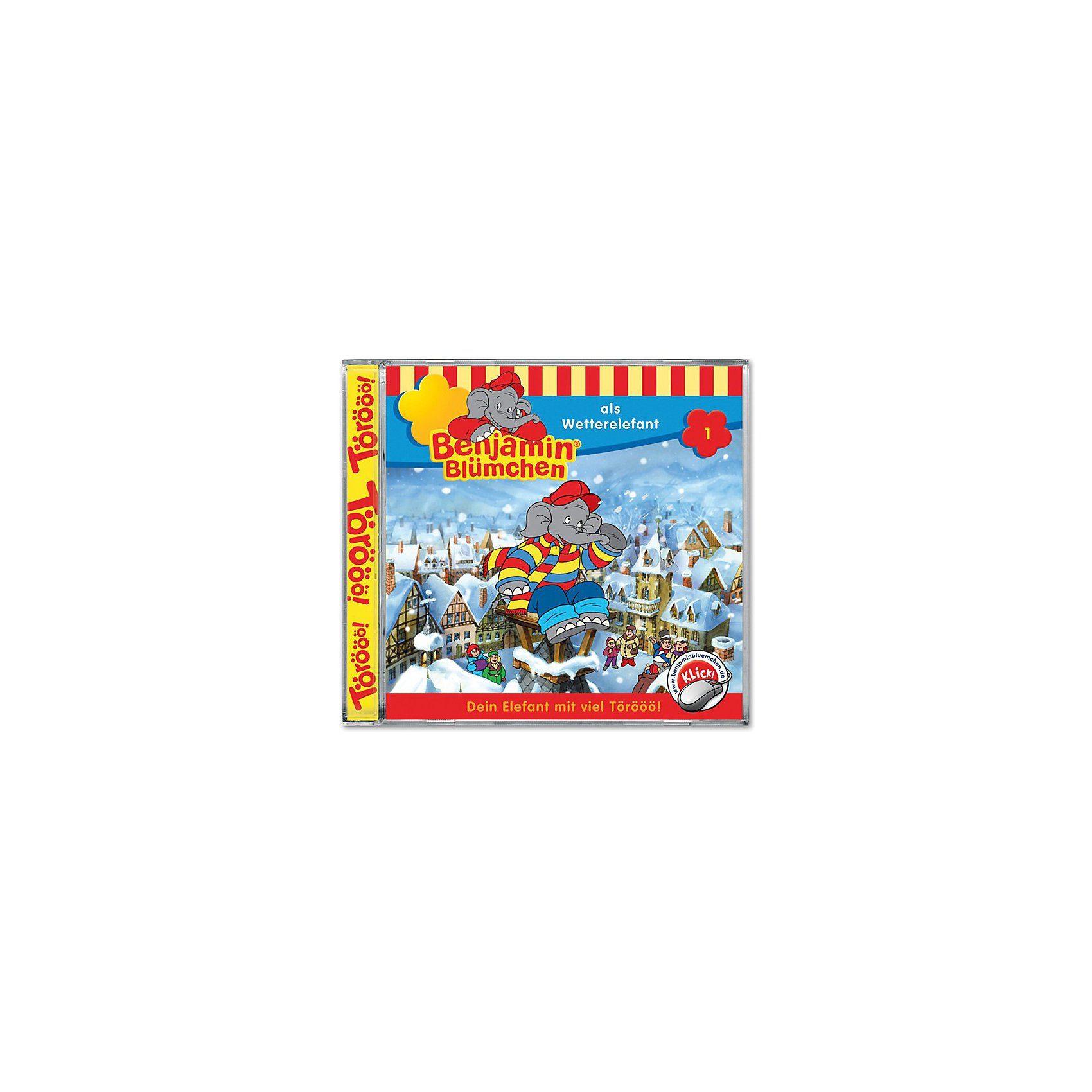 Kiddinx CD Benjamin Blümchen 01 - Wetterelefant