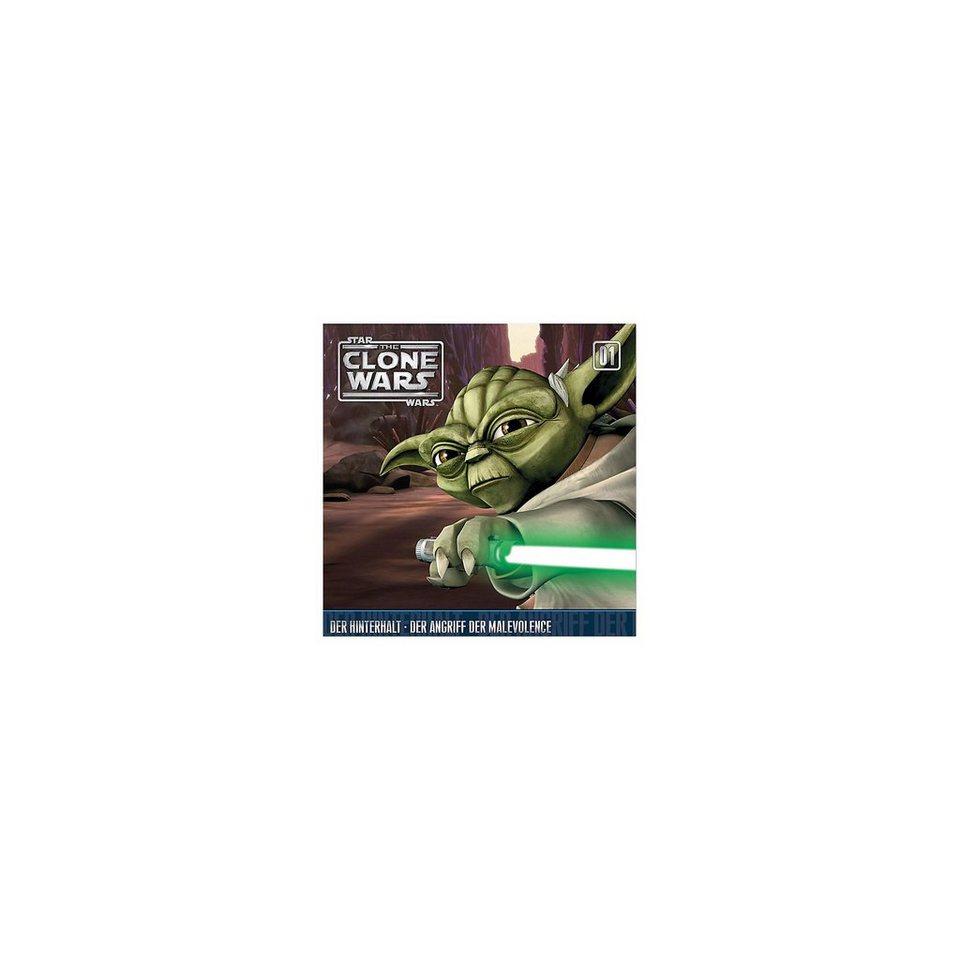 Universal Music GmbH CD Star Wars - The Clone Wars 01 - Der Hinterhalt/ Der Angri