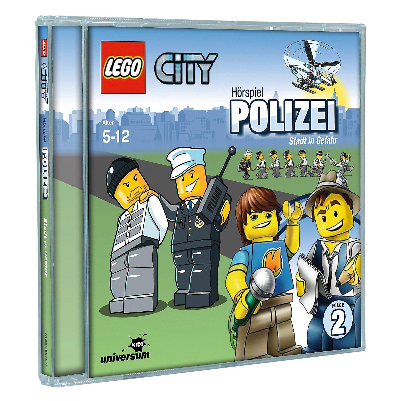 LEGO CD City 02 - Polizei: Stadt in Gefahr