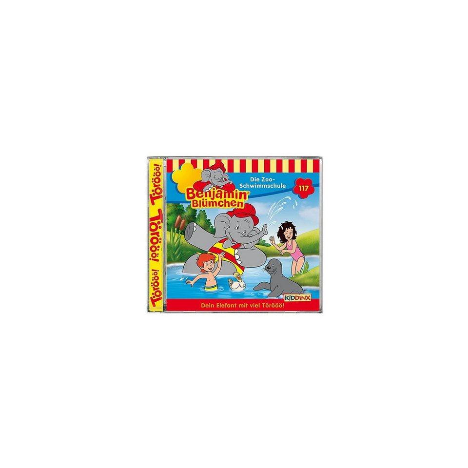 Kiddinx CD Benjamin Blümchen 117 - Die Zoo- Schwimmschule