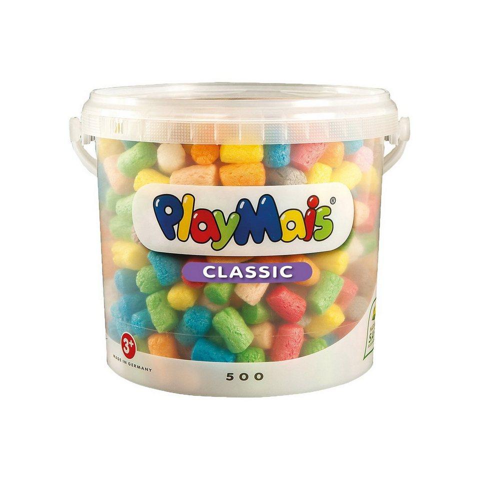 PlayMais BASIC Eimer, 500 Maisbausteine