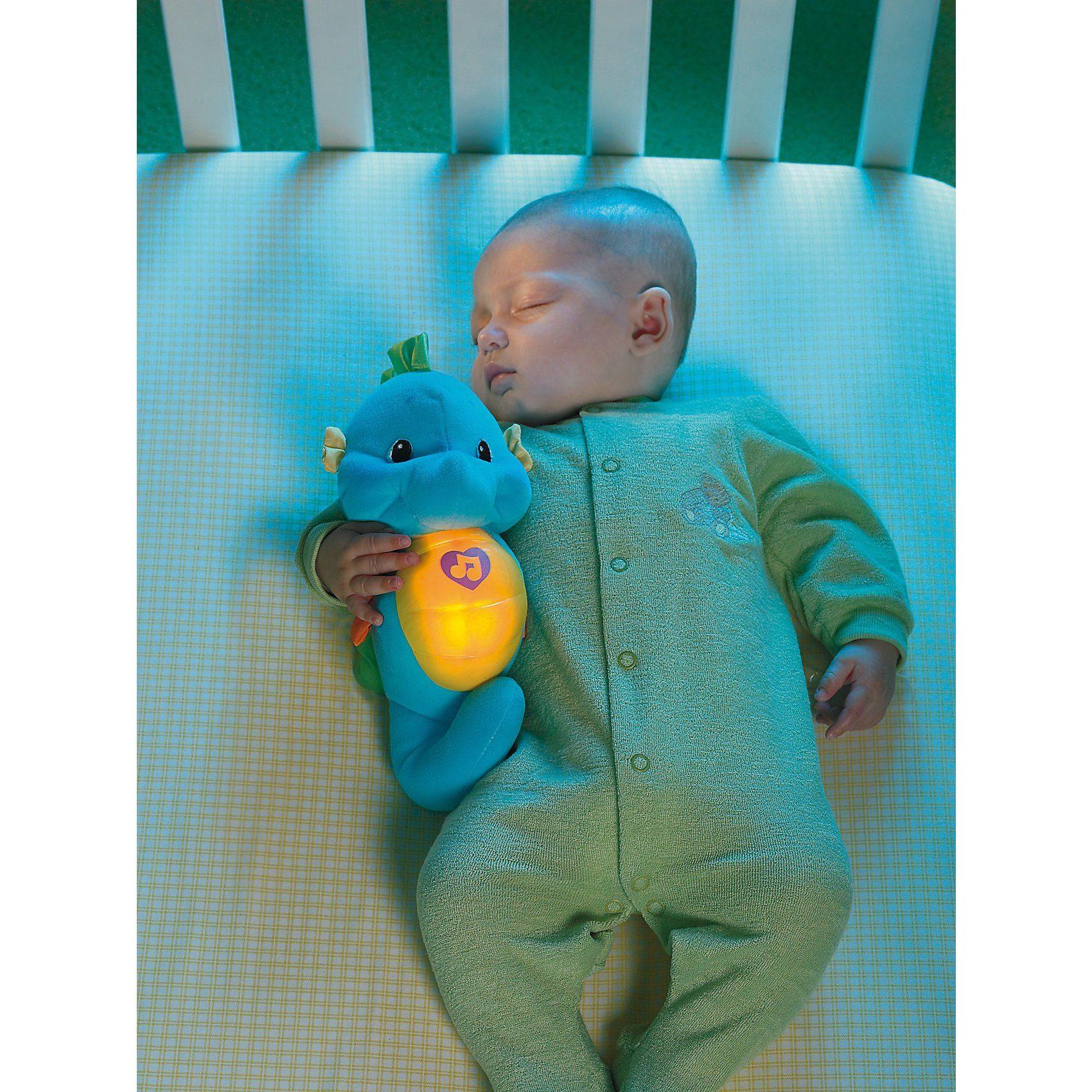 Mattel Schlummer- und Leucht-Seepferdchen (blau)