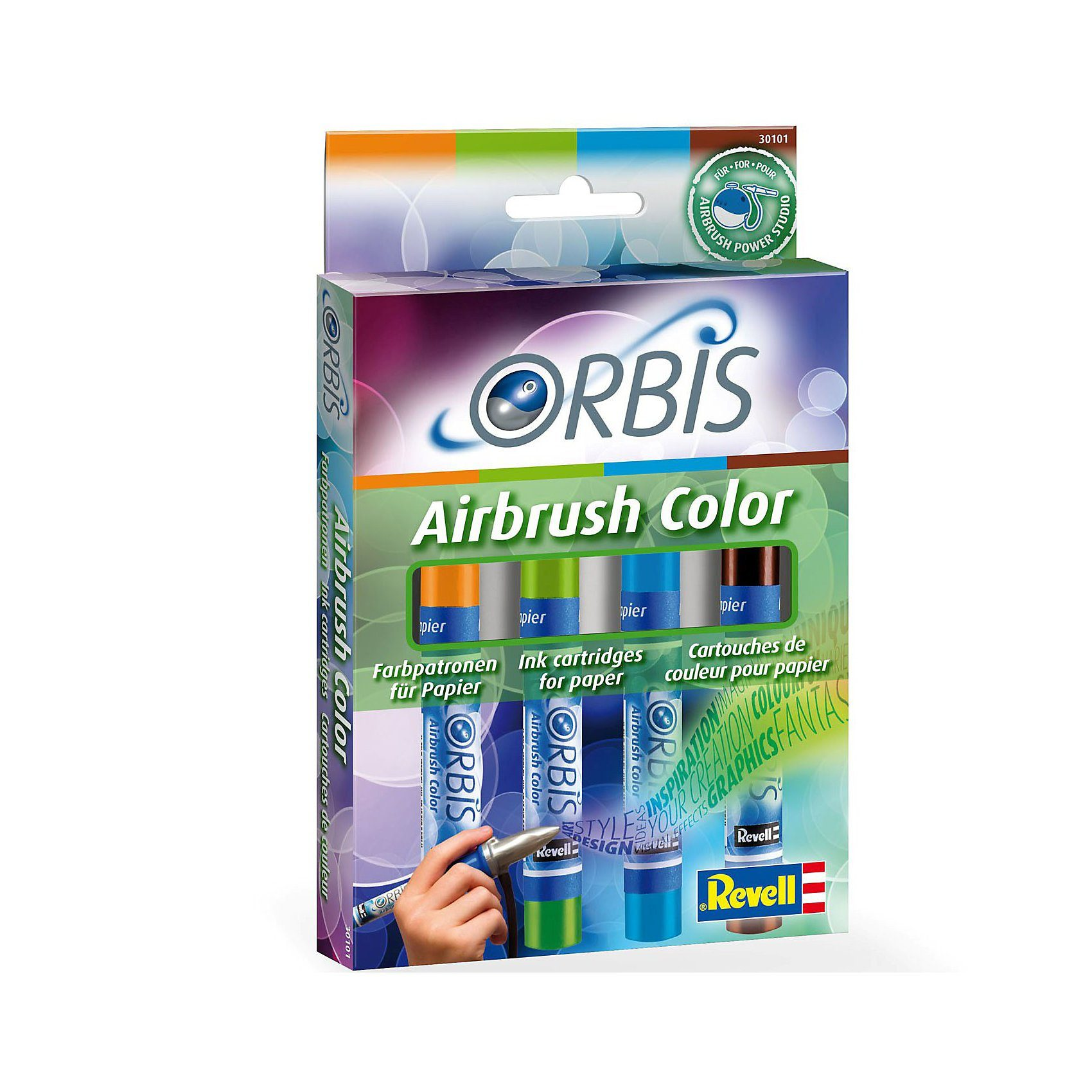 Revell Orbis 30101 Airbrush Papierpatronen Nachfüll-Set B