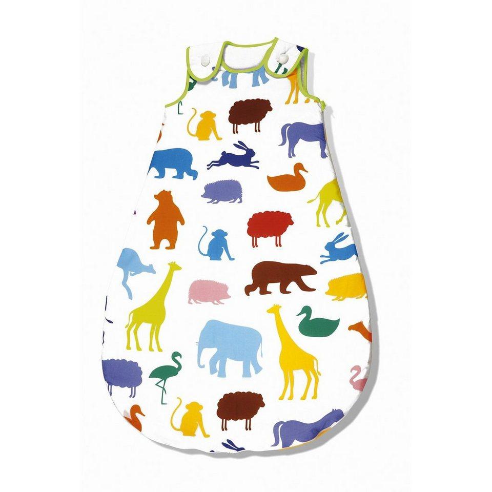 Pinolino Schlafsack Happy Zoo, sieger design in mehrfarbig
