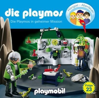 Edel CD Die Playmos 23 - Die Playmos in geheimer Mission