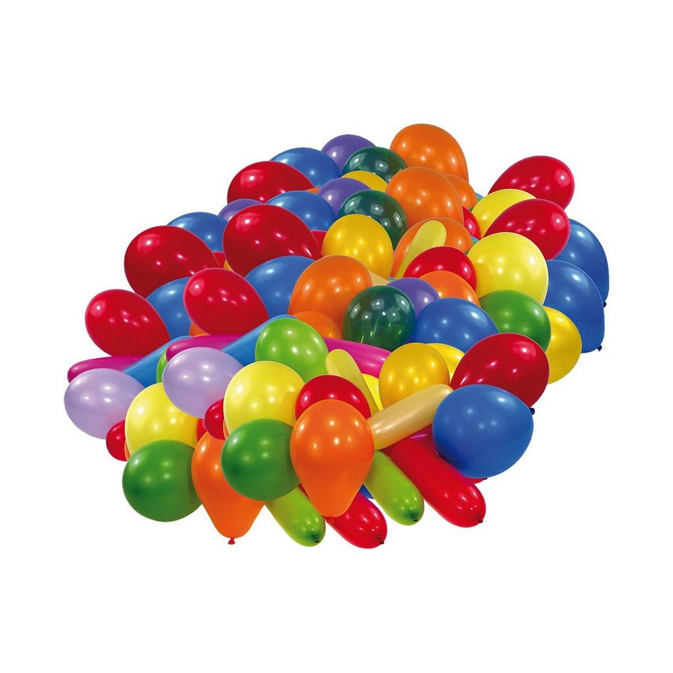 Riethmüller Luftballons, versch. Formen und Farben 100 Stück