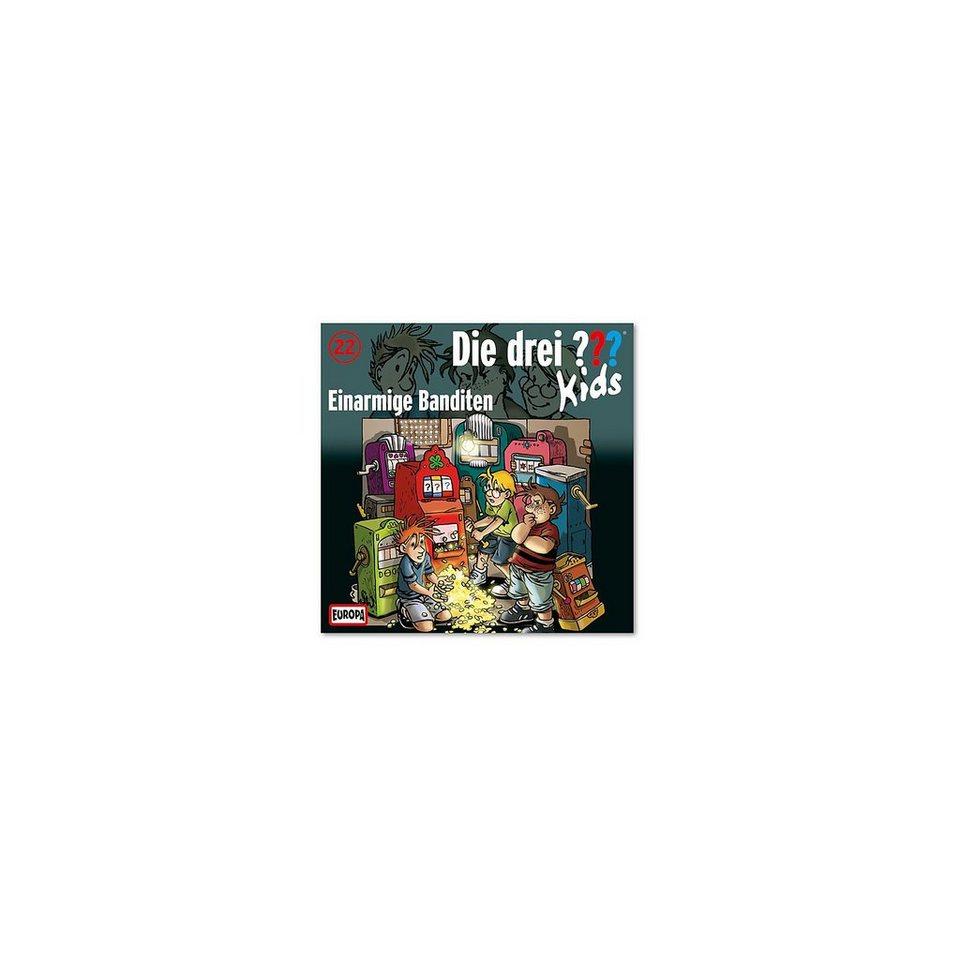 SONY BMG MUSIC CD Die drei ??? Kids 22 - Einarmige Banditen