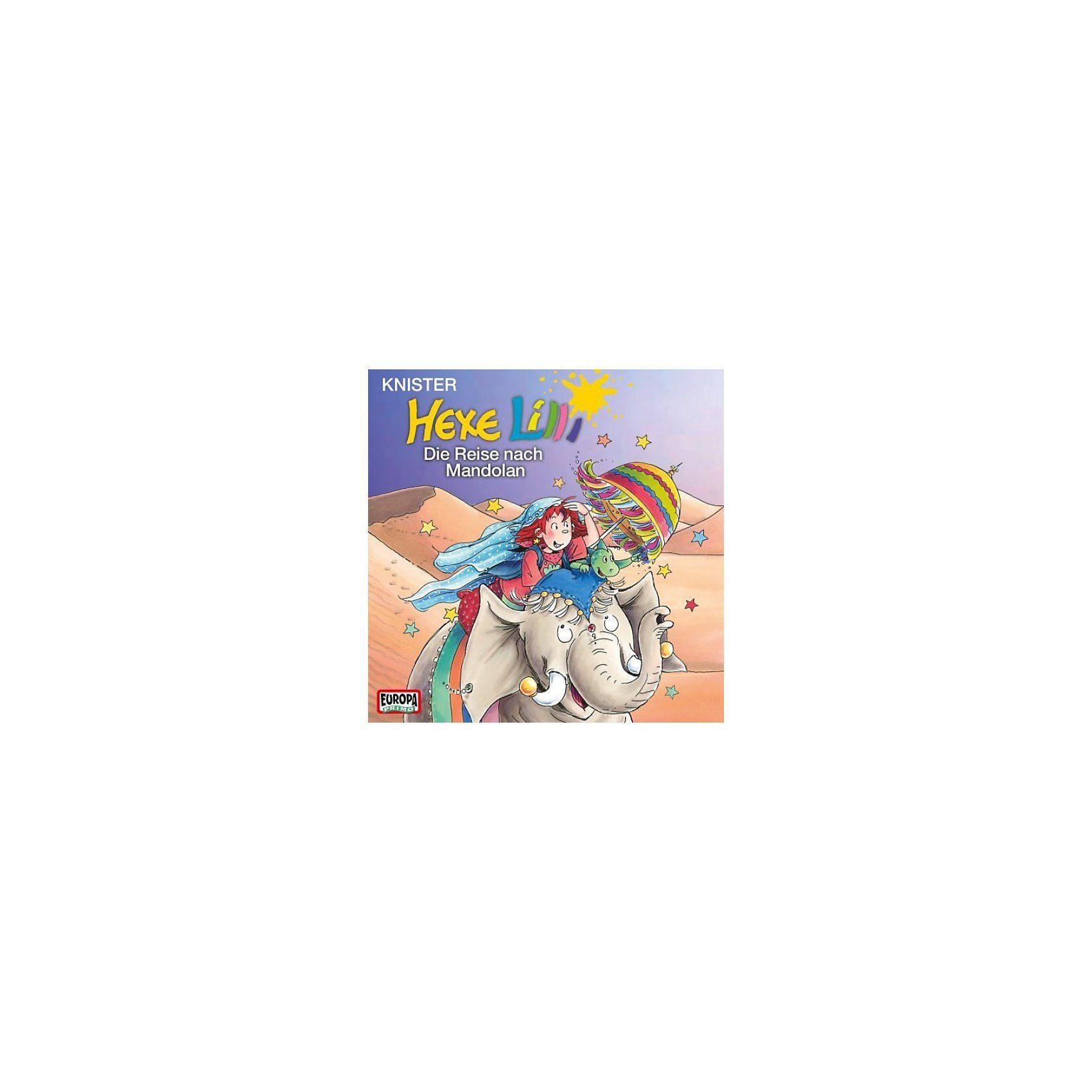 Sony CD Hexe Lilli 23/Die Reise nach Mandolan