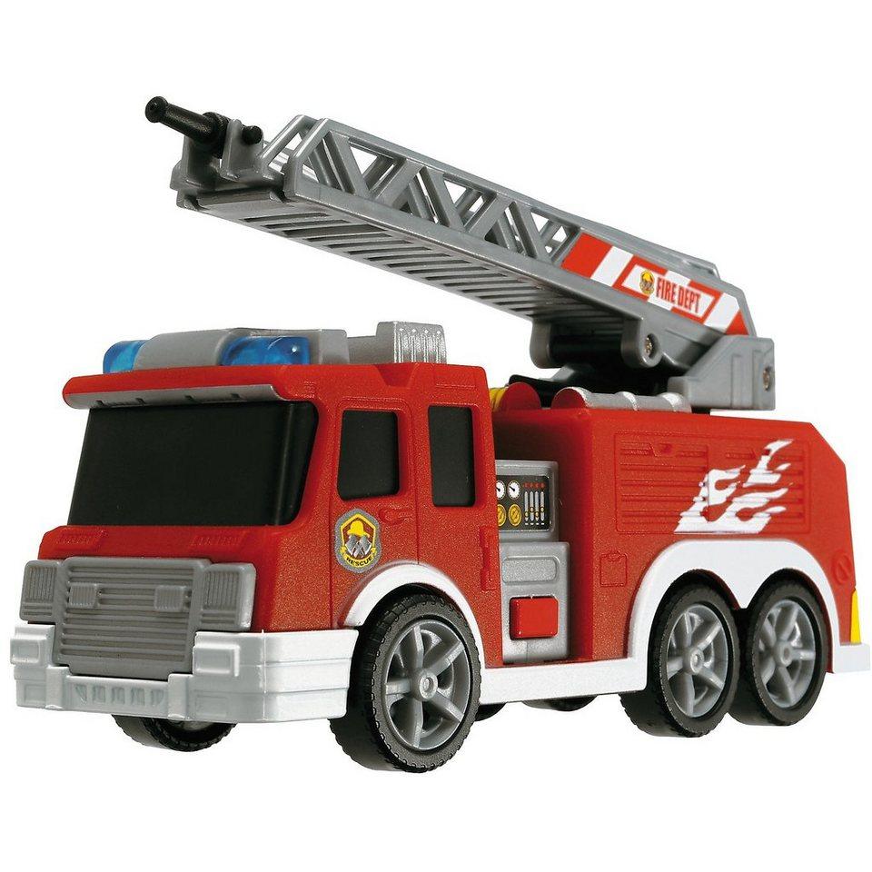 """Dickie Toys """"Fire Truck"""" - Feuerwehr LKW mit Licht und Sound"""