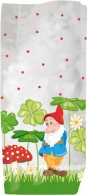 URSUS Geschenk-Bodenbeutel Glückspilz 14,5 x 23,5 cm, 10 Stück