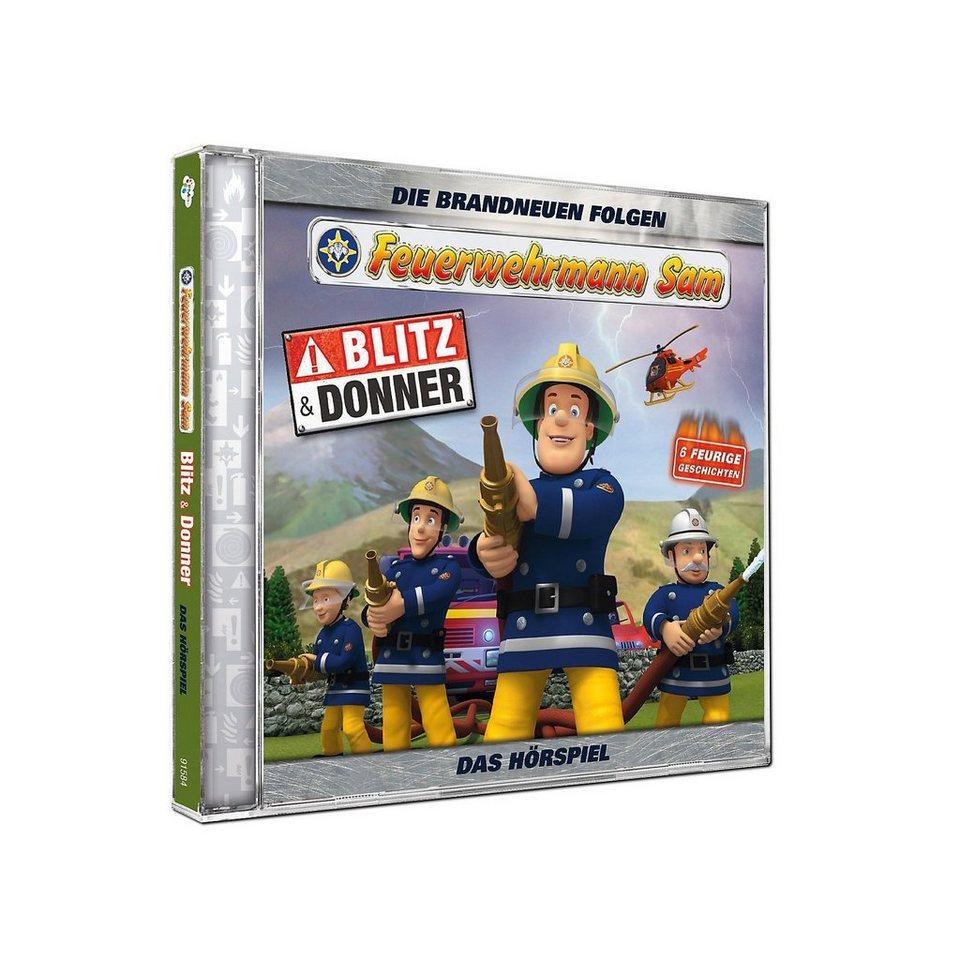 Just Bridge Entertainment CD Feuerwehrmann Sam - Blitz und Donner