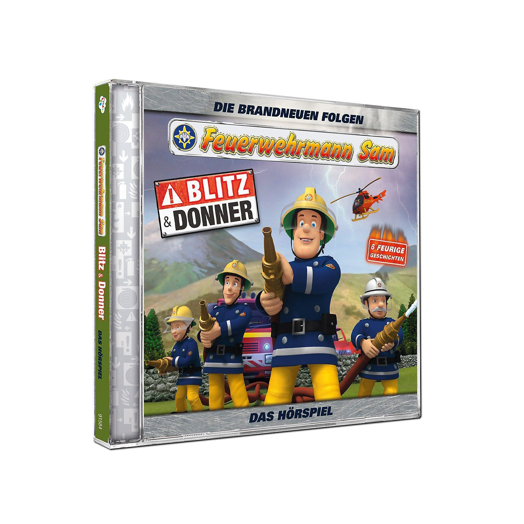 Just Bridge Entertainment CD Feuerwehrmann Sam - Blitz und Donner