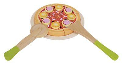 Eitech Salamipizza schneiden