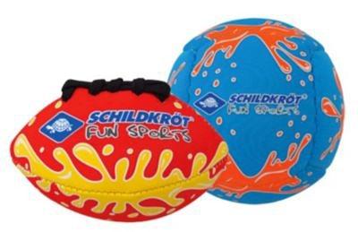 Schildkröt Funsports Neoprene Mini-Ball 2er Set in blau/rot