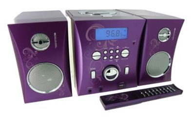 bigben Music Center MCD06 Arabesque mit MP3 + USB