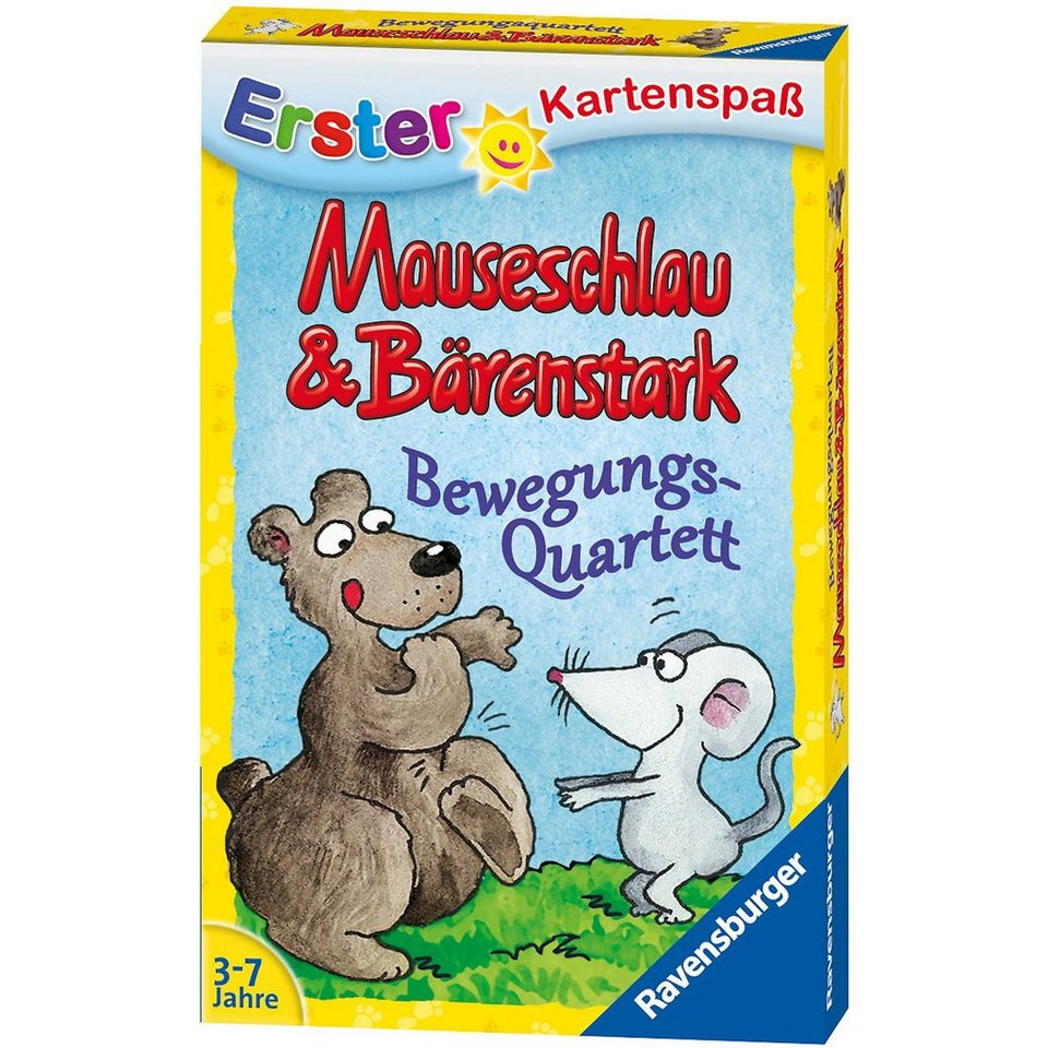 Ravensburger Mauseschlau&Bärenstark Bewegungsquartett