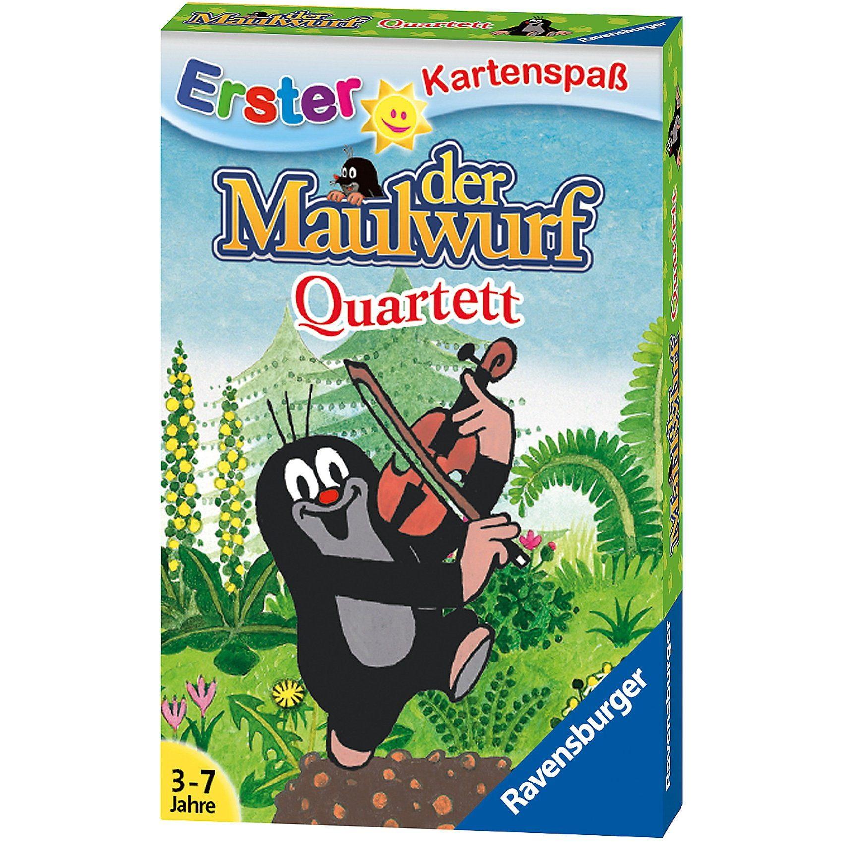 Ravensburger Der Maulwurf-Quartett