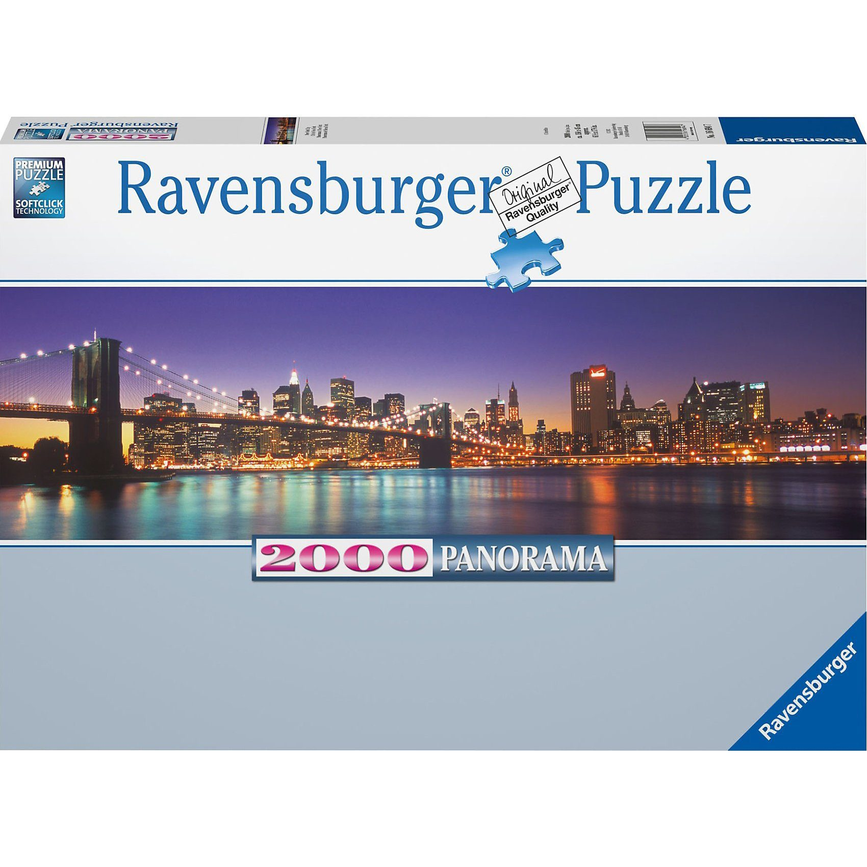 Ravensburger Puzzle New York City 2000 Teile