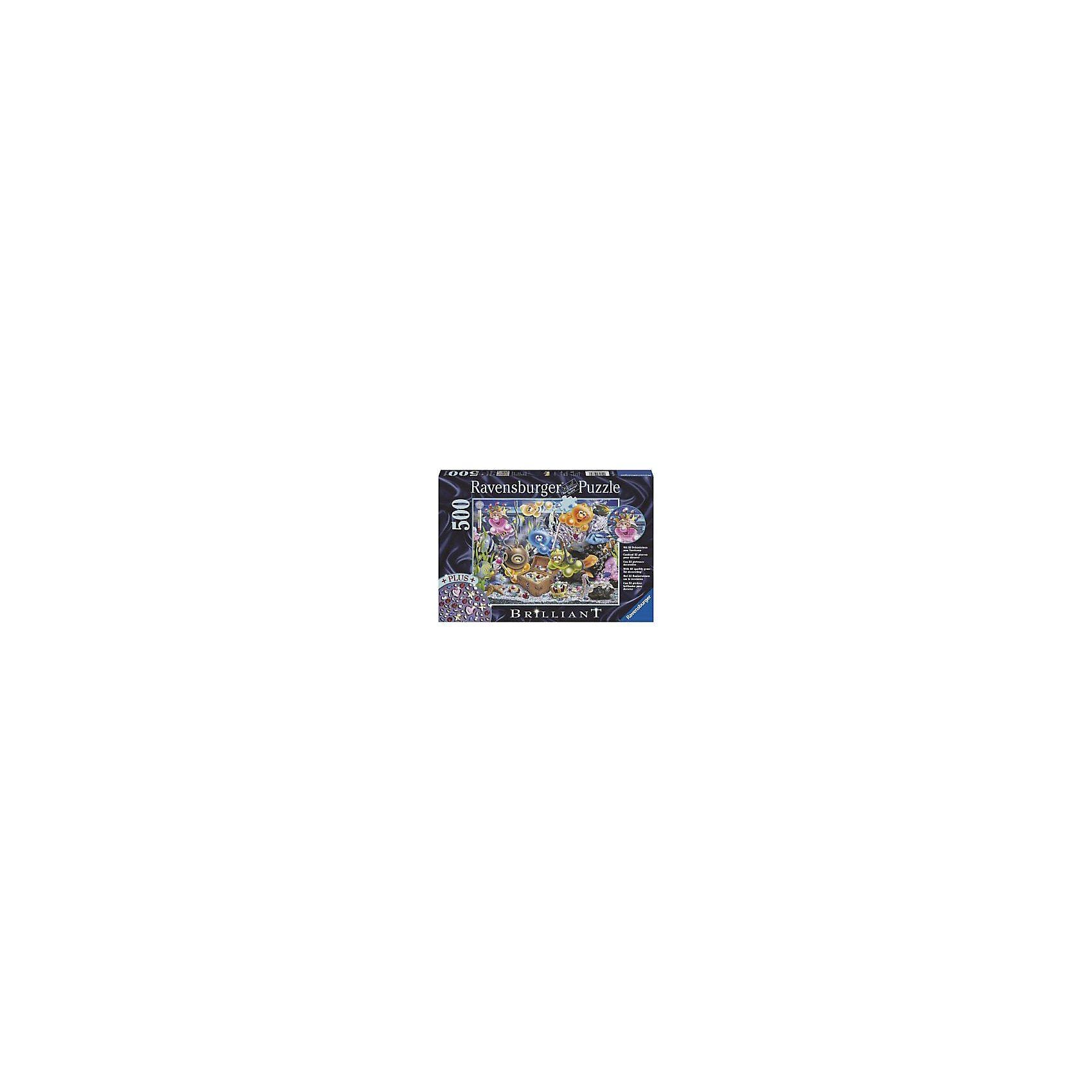 Ravensburger Puzzle Gelinis auf Schatzsuche 500 Teile